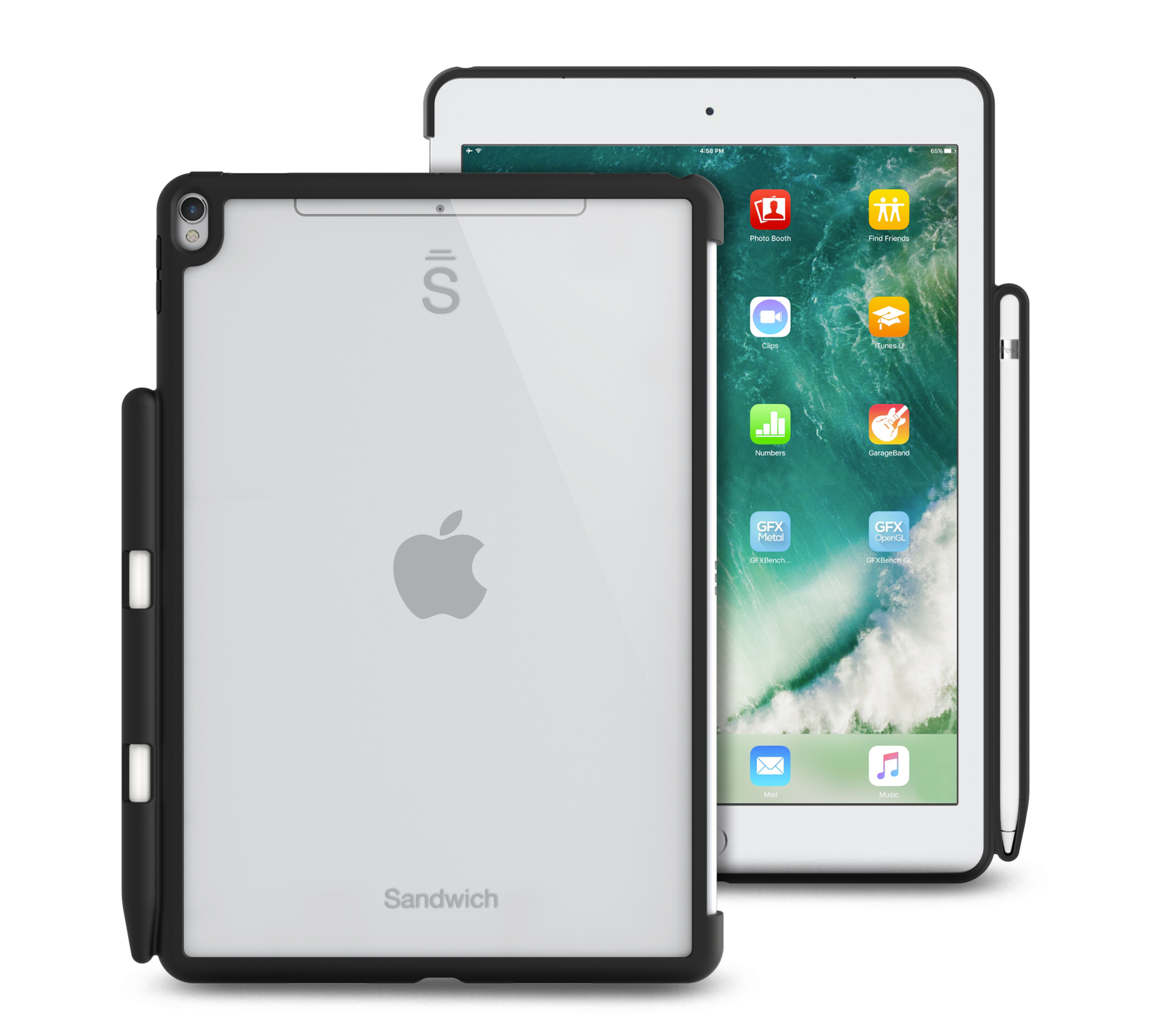buy popular 811d9 07d0a Sandwich Case Essential for iPad 9.7-inch (6th Gen, 2018)